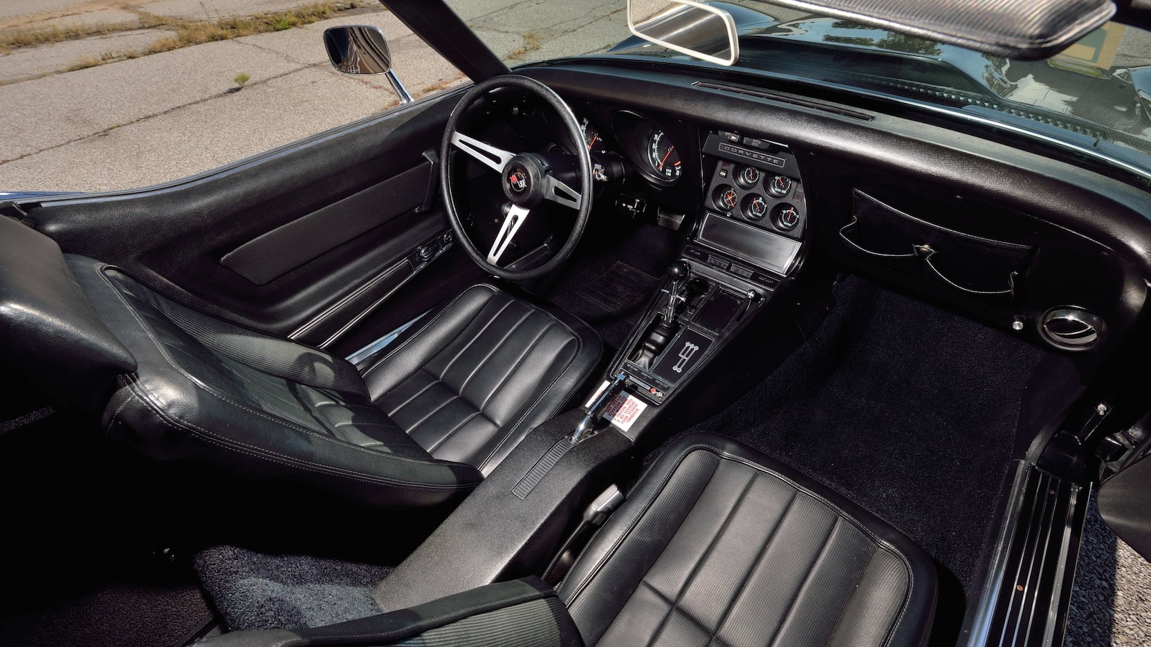 1969 Chevrolet Corvette l88 interior convertible