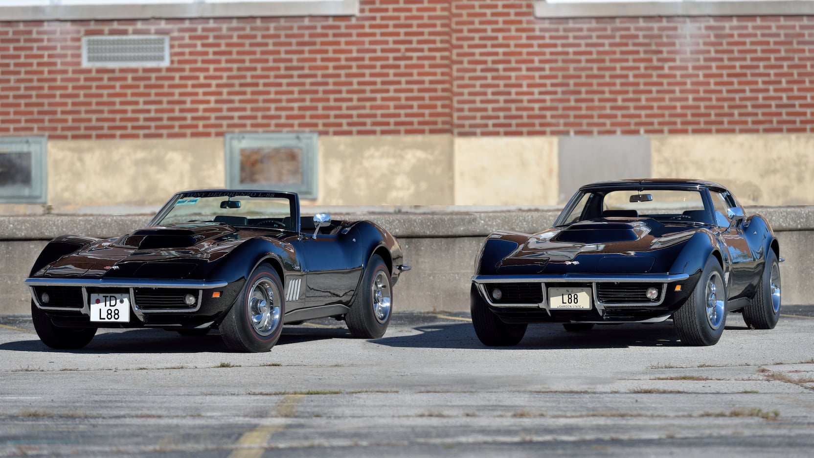 Get this matched pair of L88 Corvettes by writing one check thumbnail