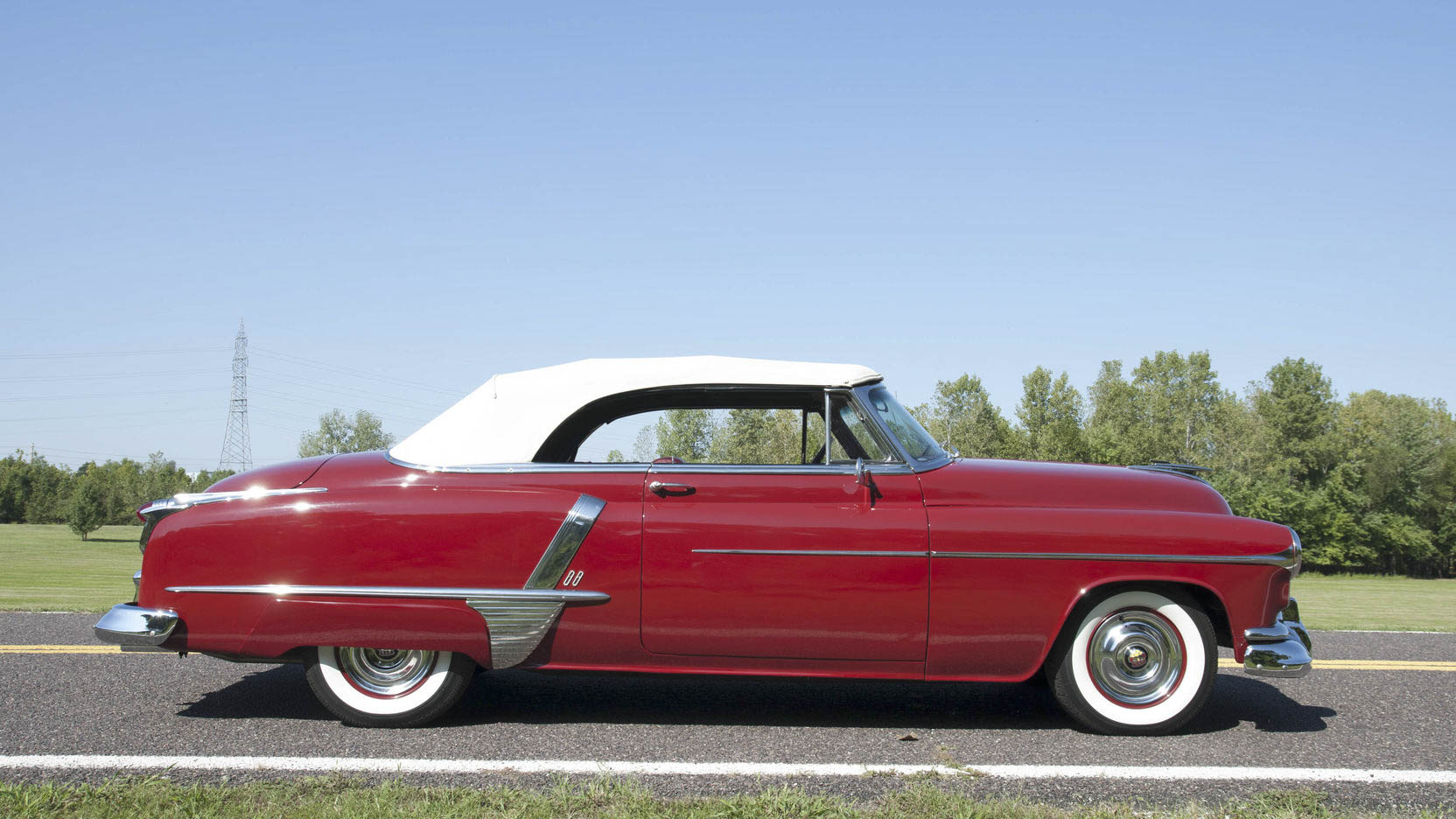 1951 Oldsmobile 88 profile
