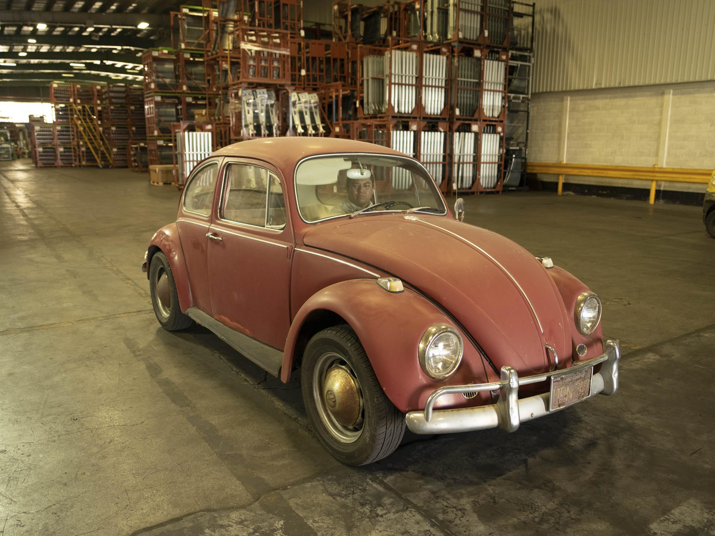 1967 Volkswagen Beetle pre-restoration