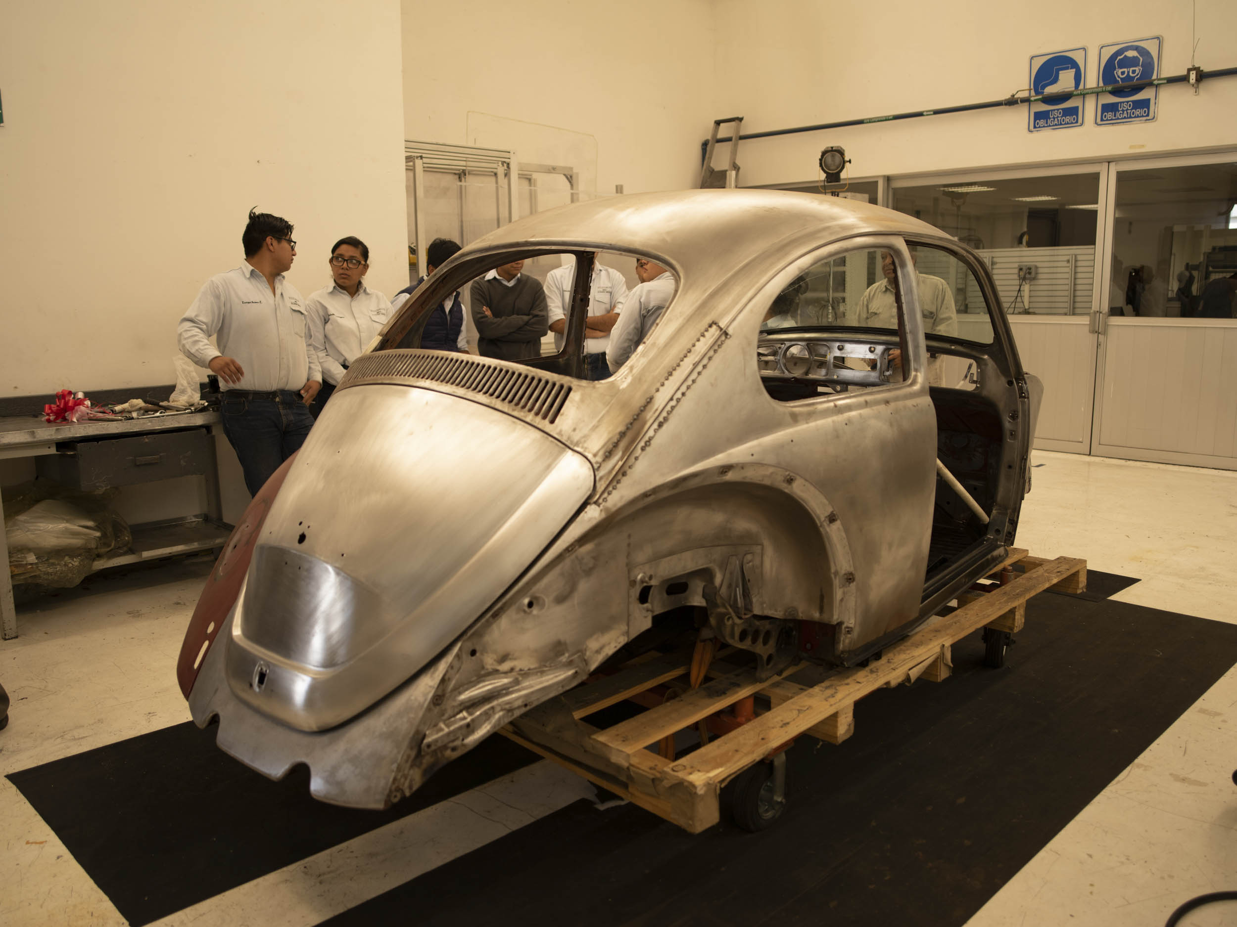1967 Volkswagen Beetle metal shell