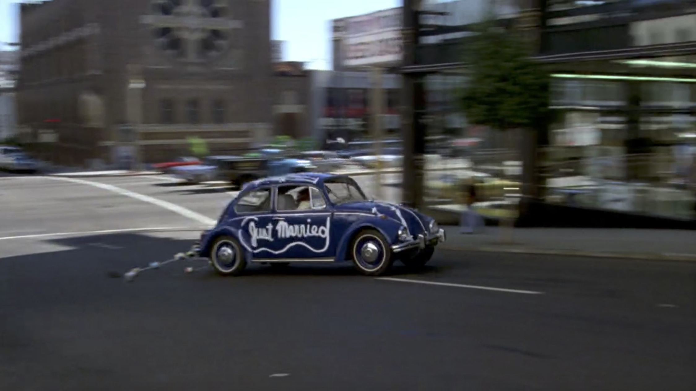 What's Up, Doc? beetle on the run