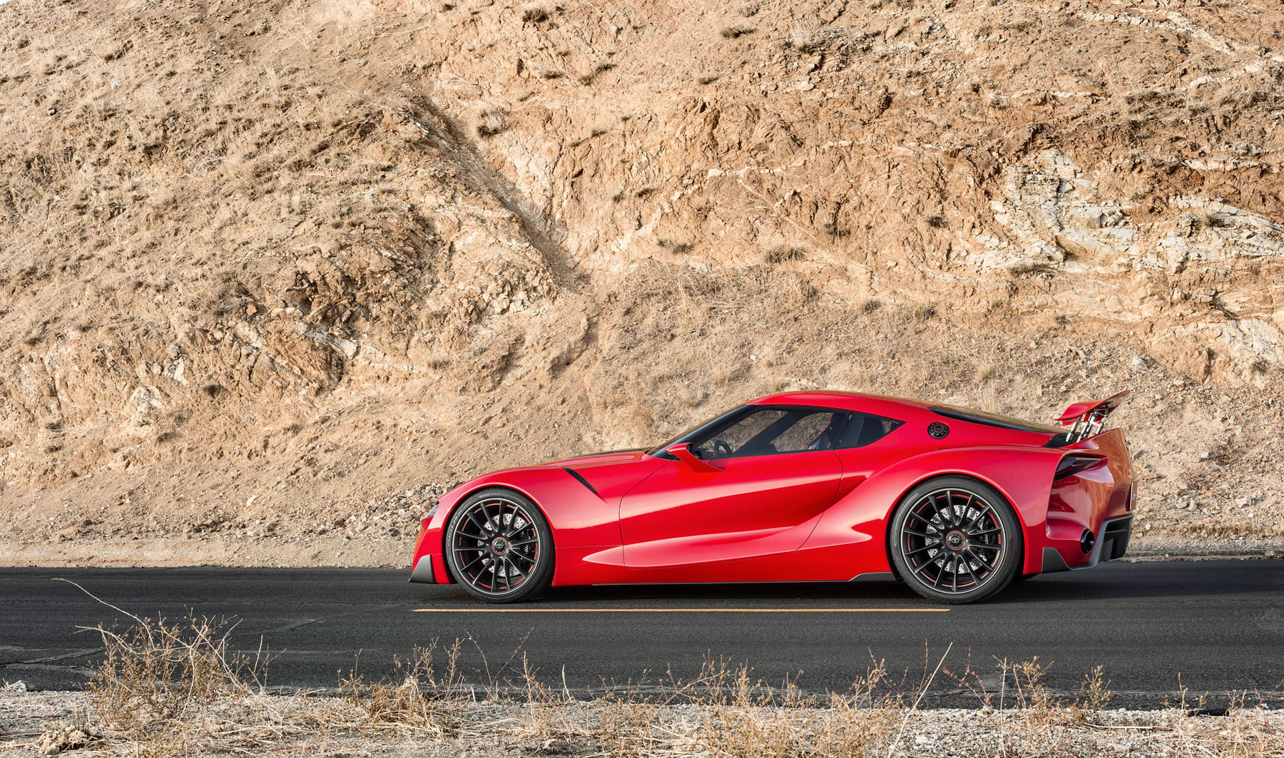 Toyota FT-1 concept profile