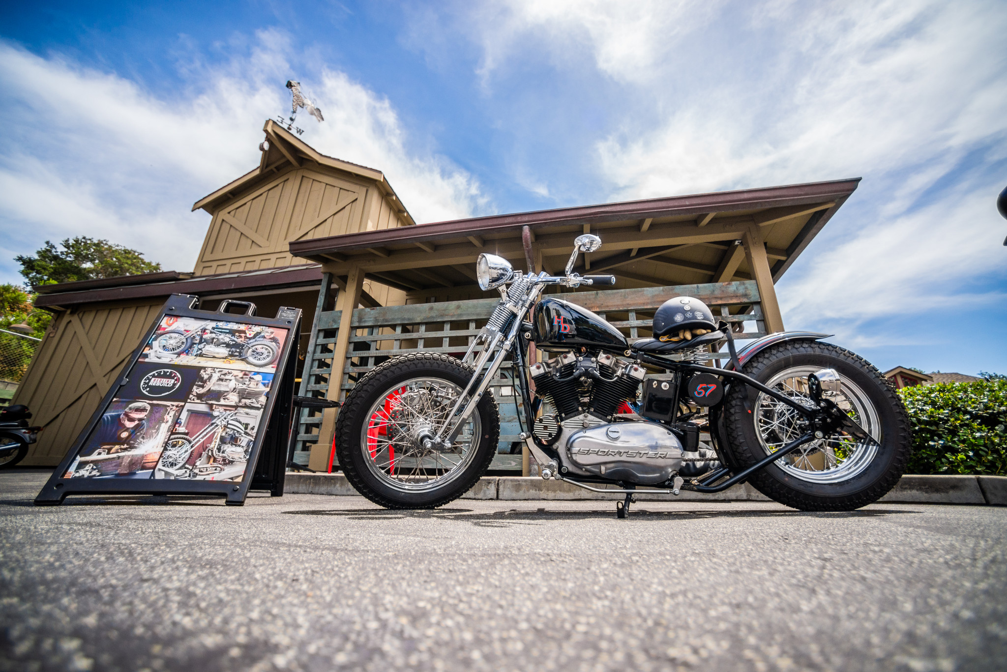 Hagerty Harley quail vintage rally