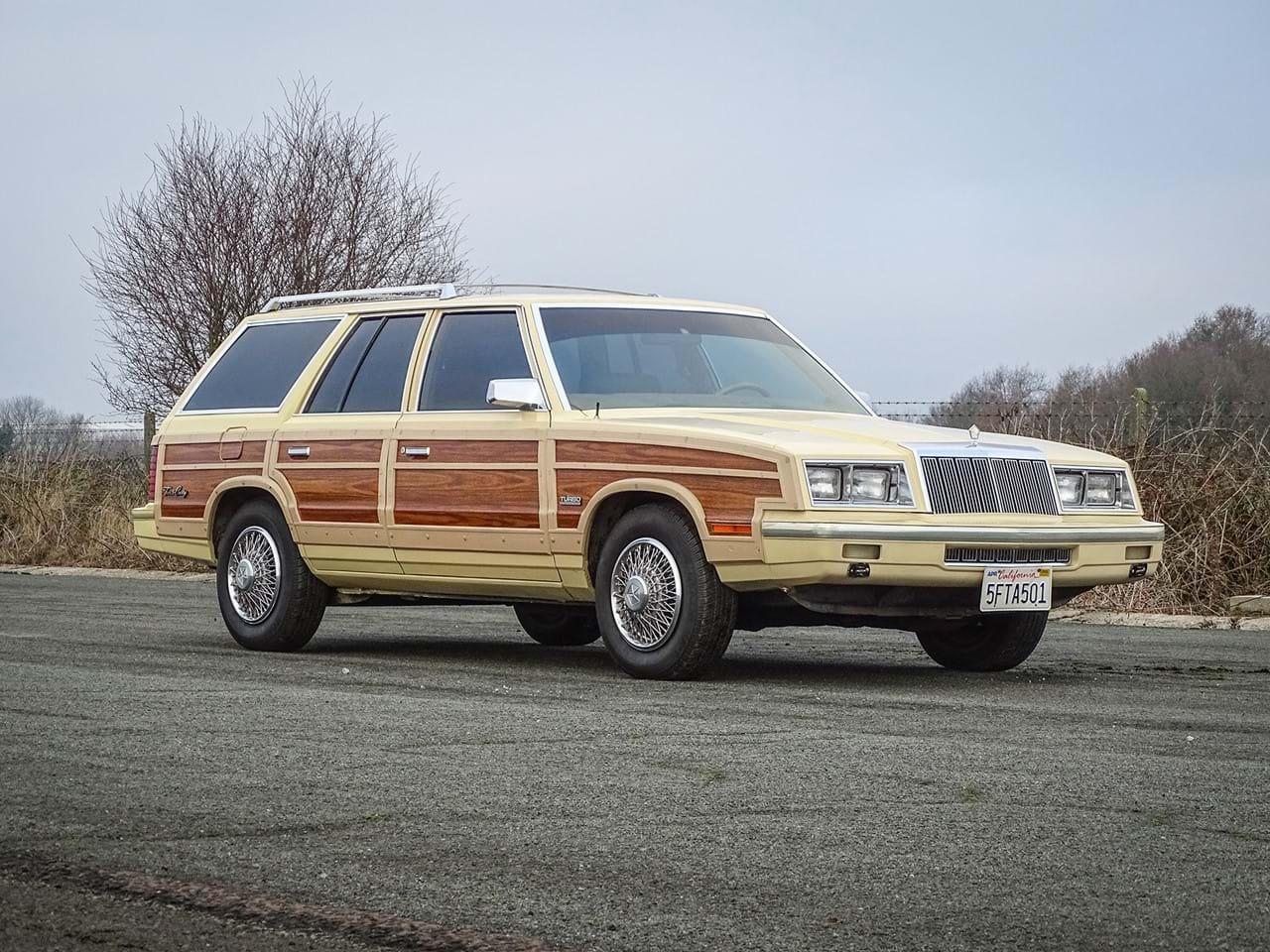 1985 Chrysler LeBaron Wagon, formly Frank Sinatra's, up for sale thumbnail