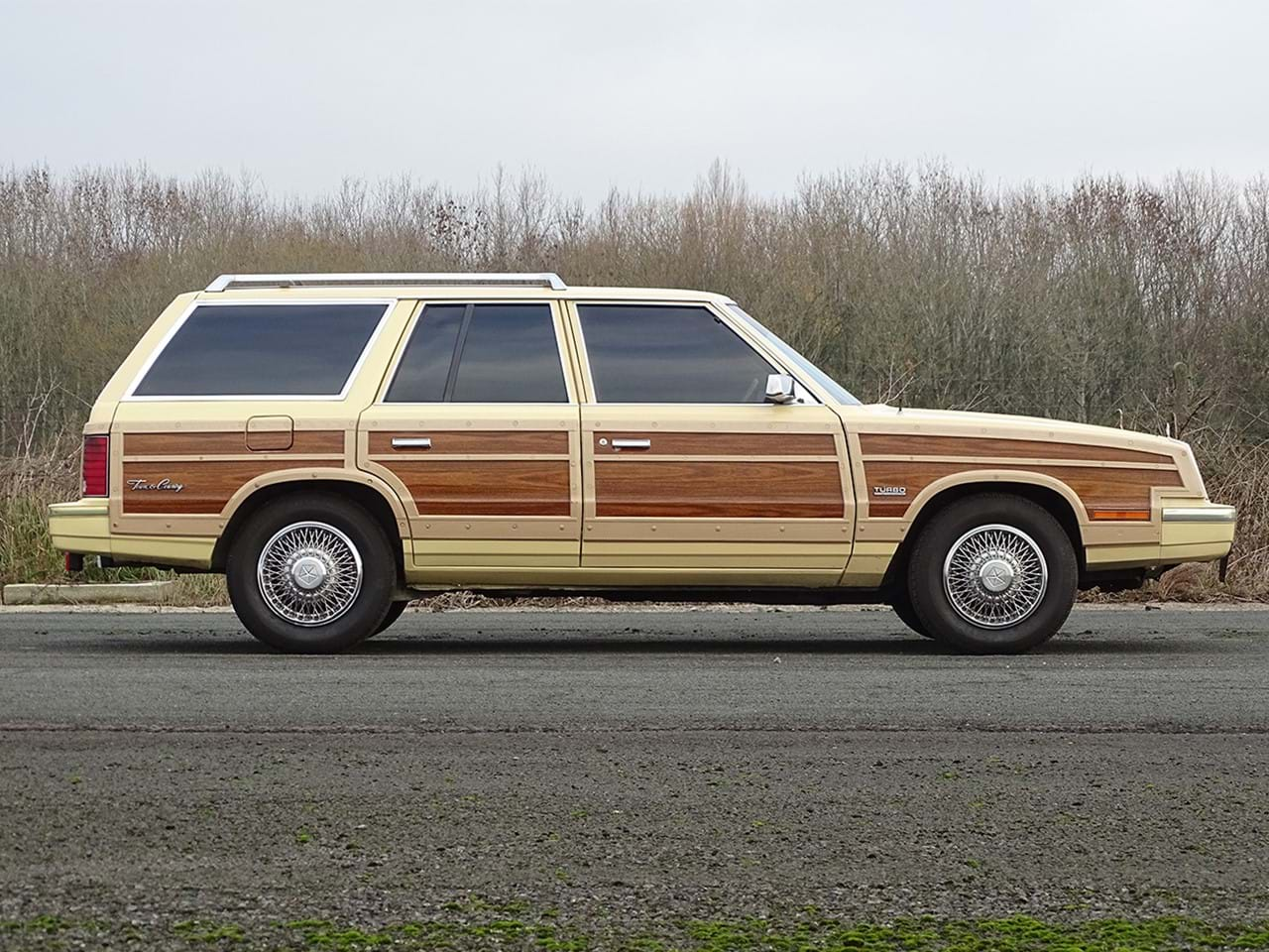 1985 Chrysler LeBaron Town and Country Wagon side profile