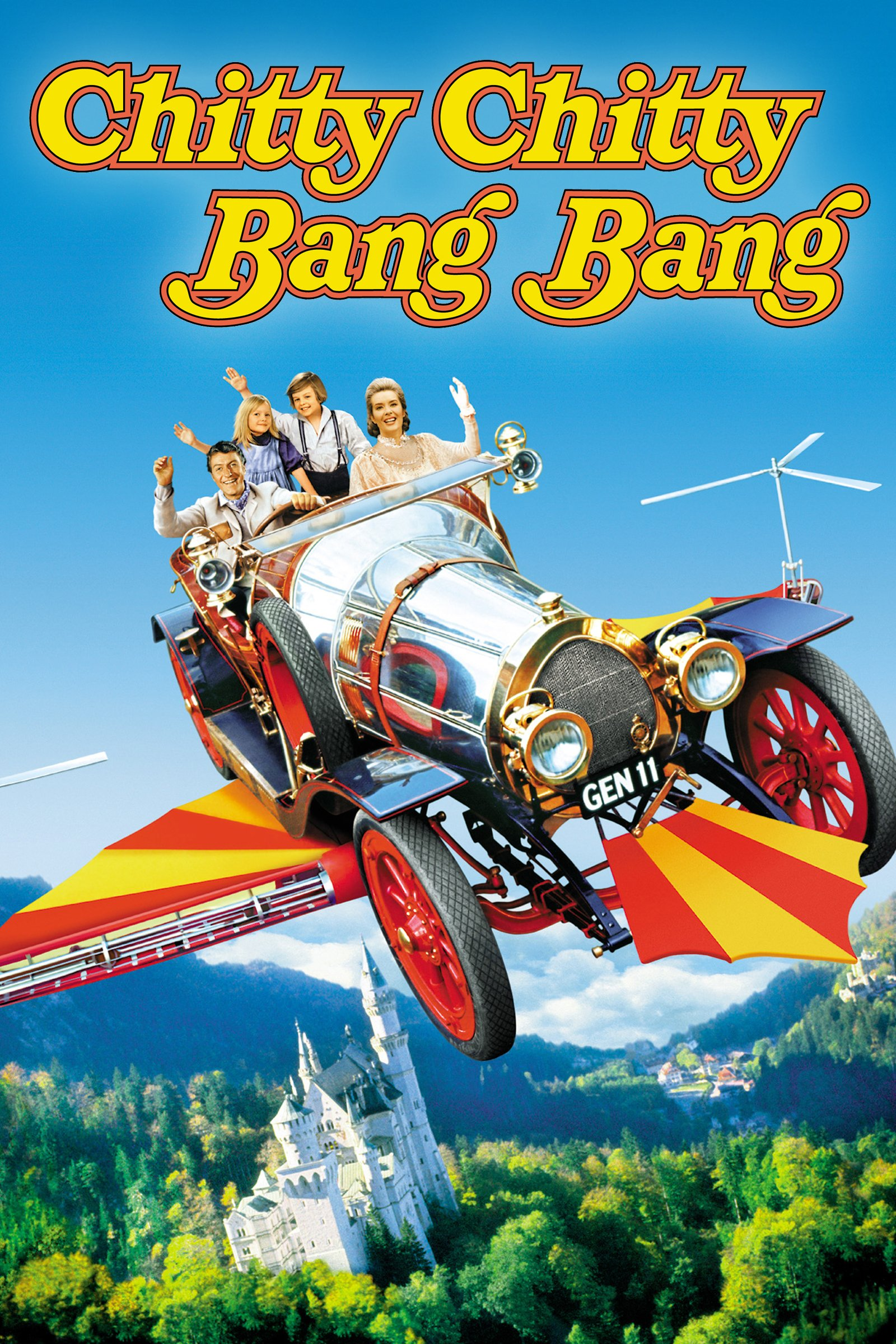 Chitty Chitty Bang Bang movie cover