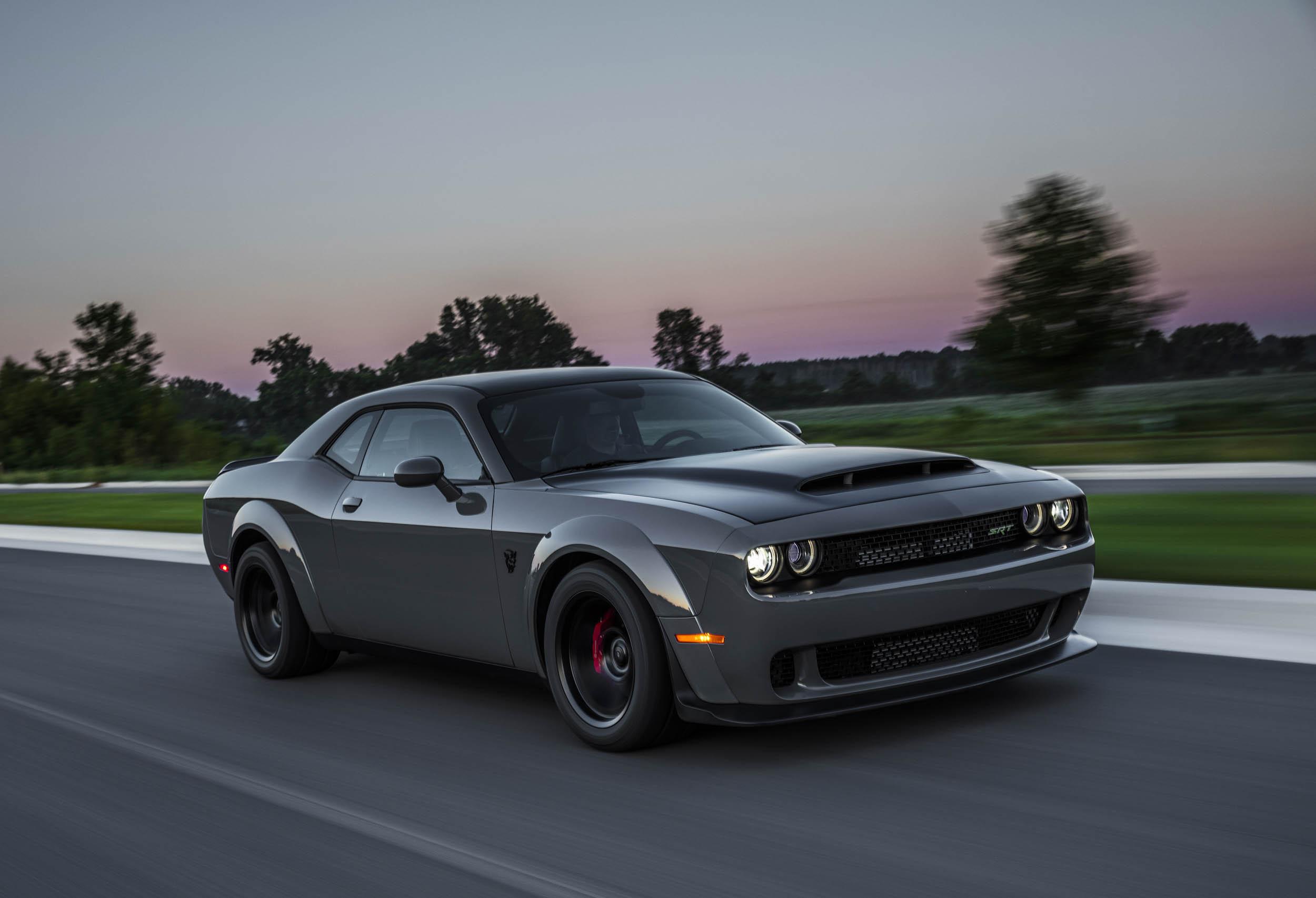 2018 Dodge Challenger SRT Demon front 3/4