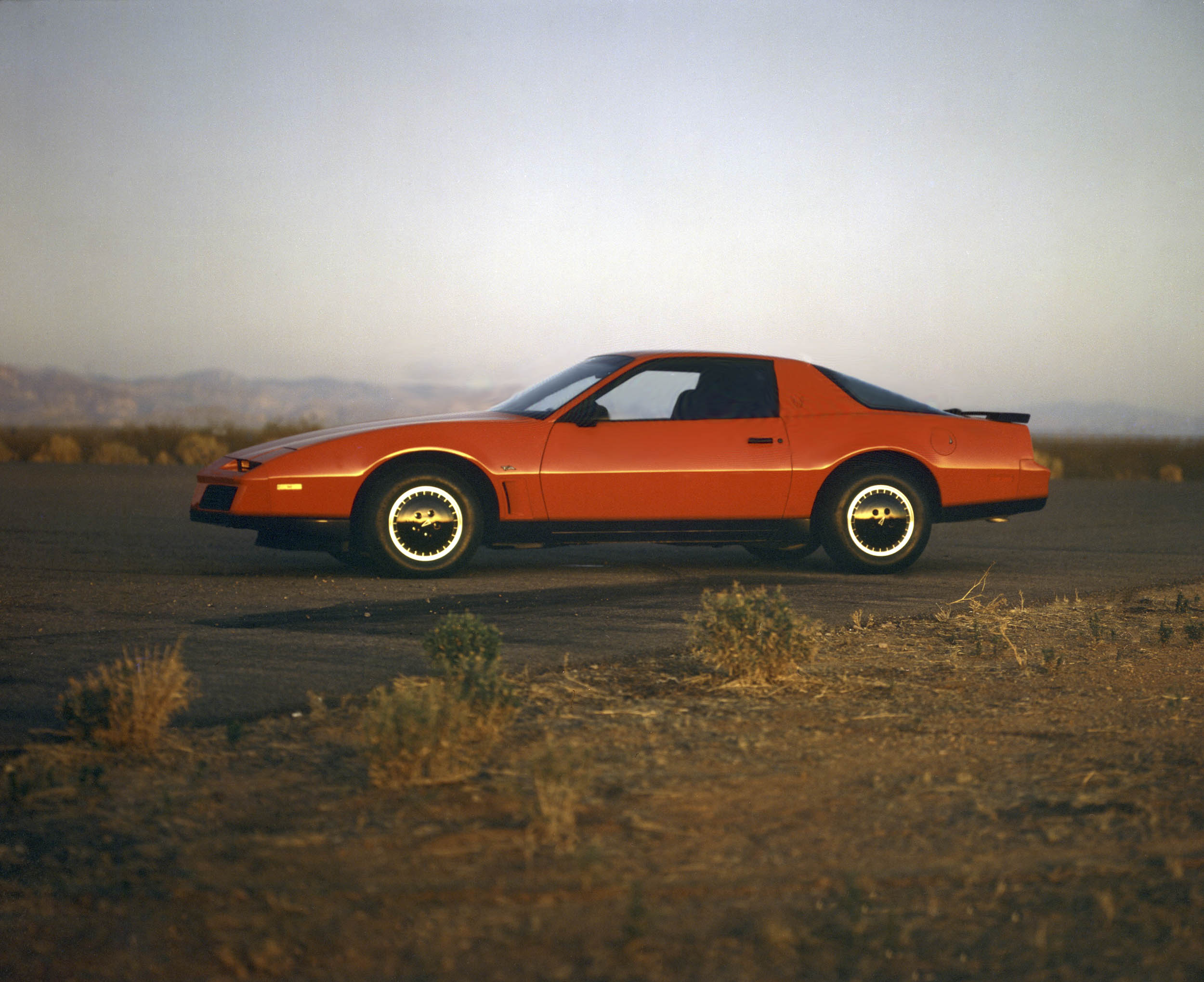 Like KITT but orange, this 1982 Trans Am cut a stylish profile at its debut.