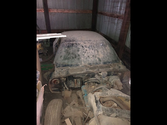 1979 Pontiac Trans Am found in a barn
