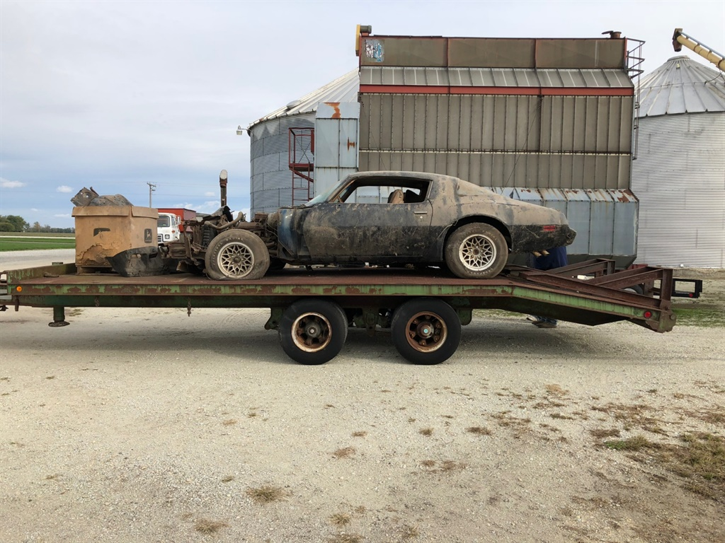 Barn Find 1979 Pontiac Trans Am