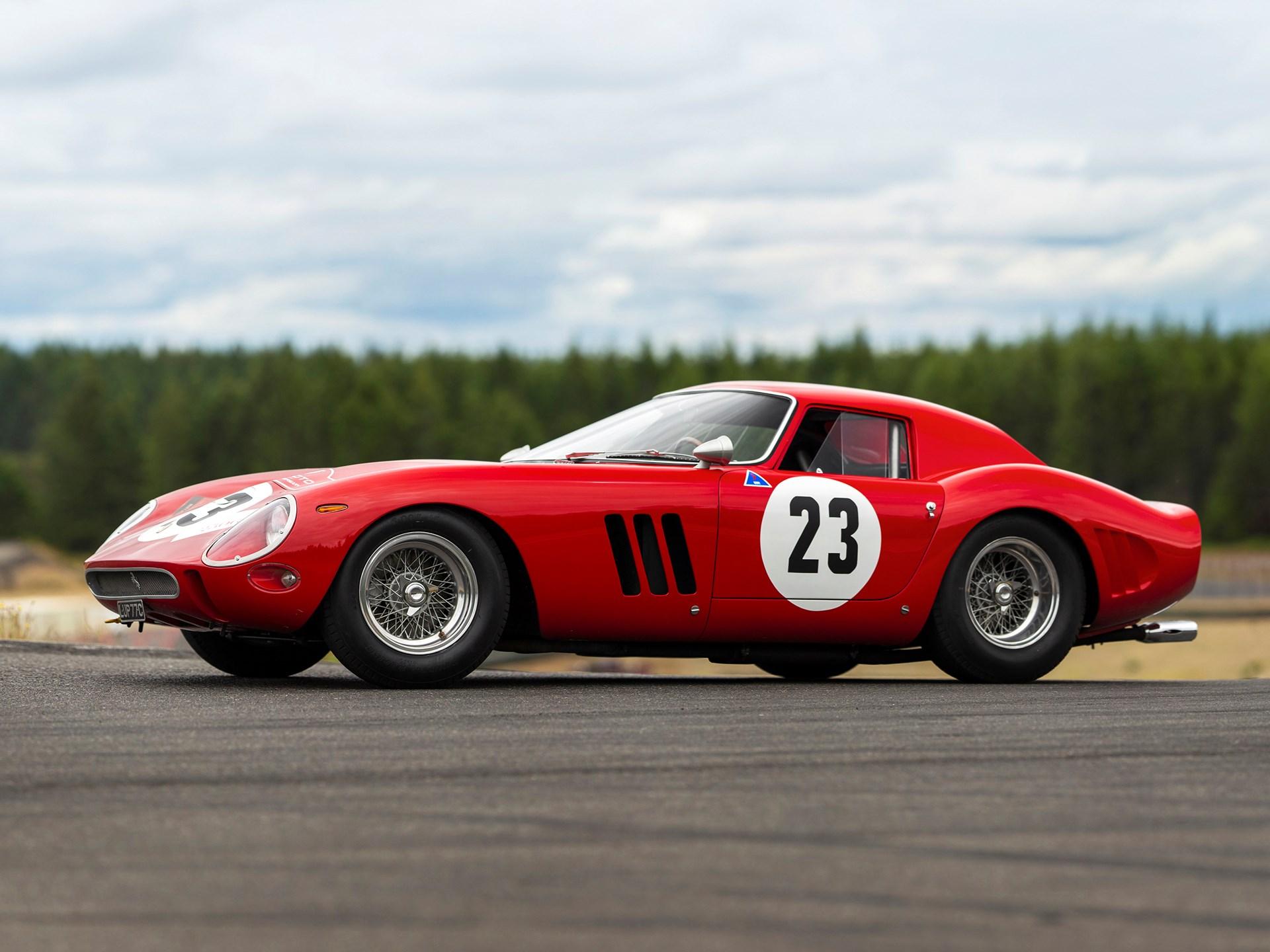 1962 Ferrari 250 GTO 3/4 front red