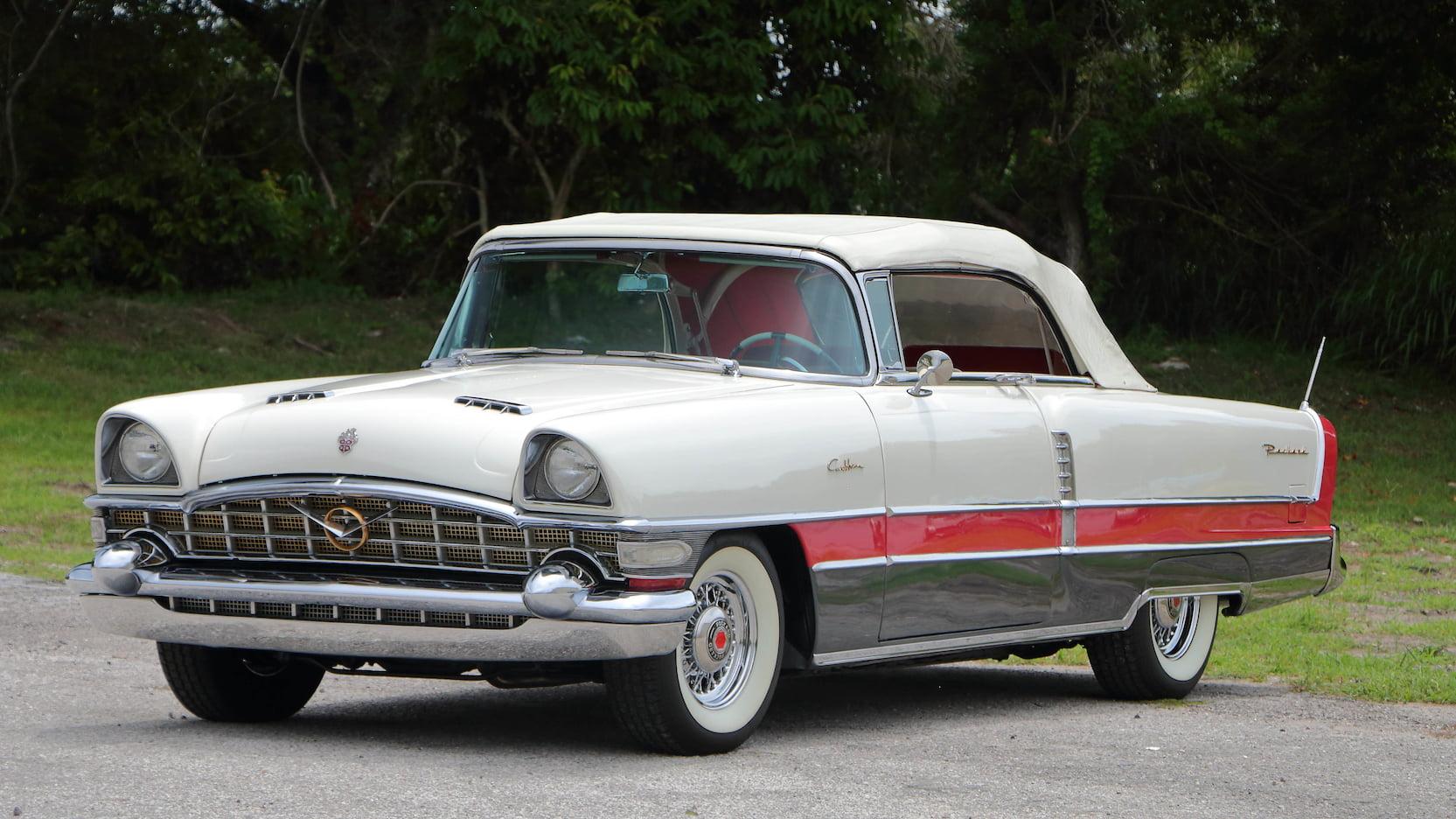 1956 Packard Caribbean front 3/4