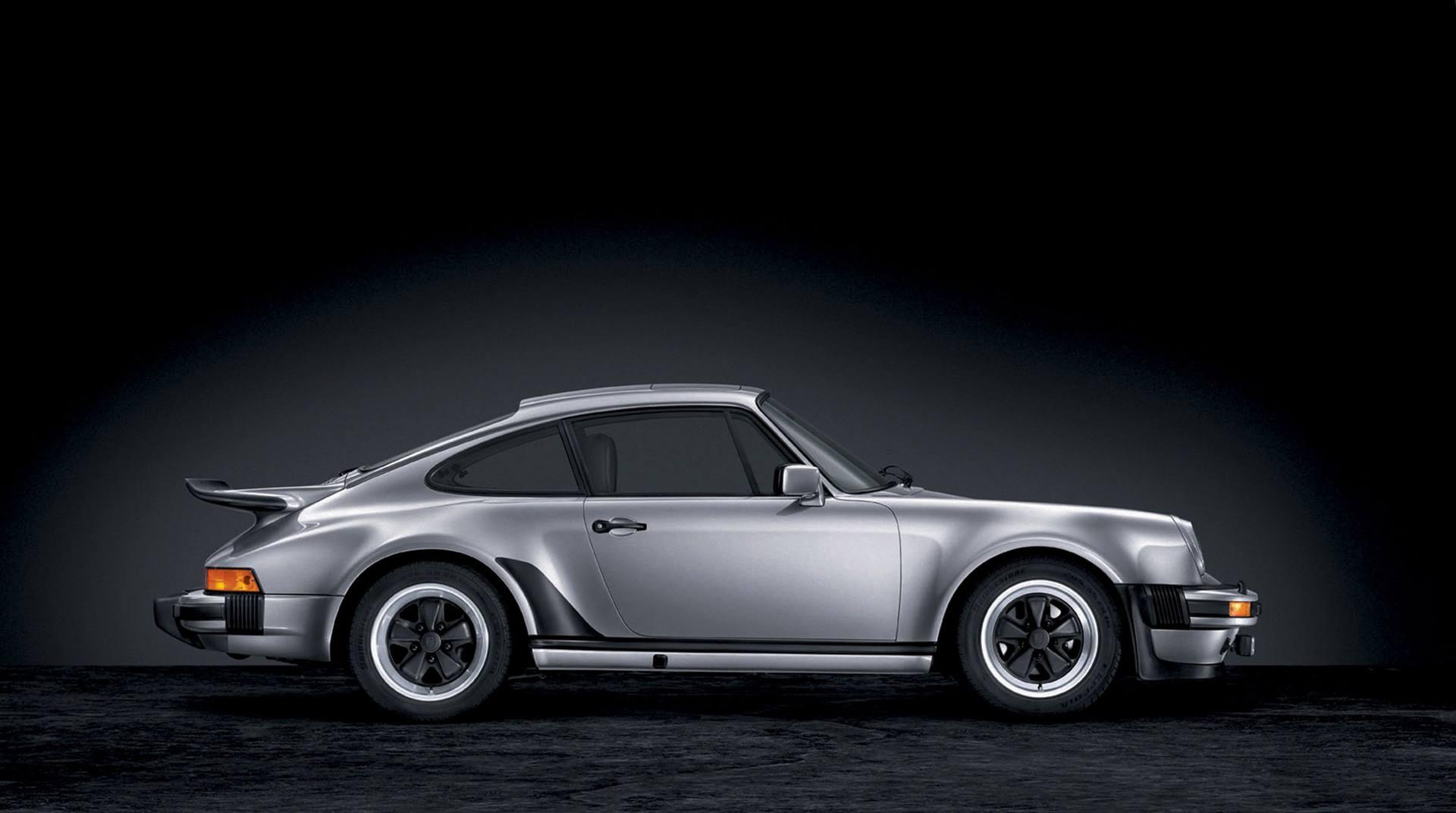 Porsche 911 Turbo (930) side profile