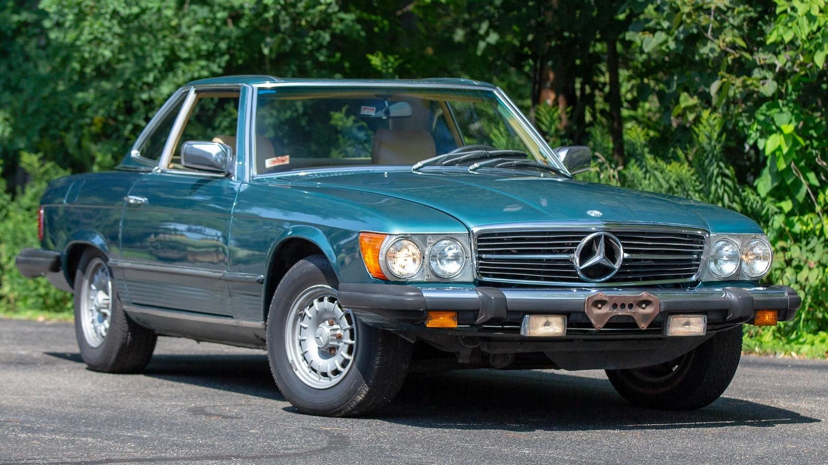 1980 Mercedes-Benz 450SL 3/4 front