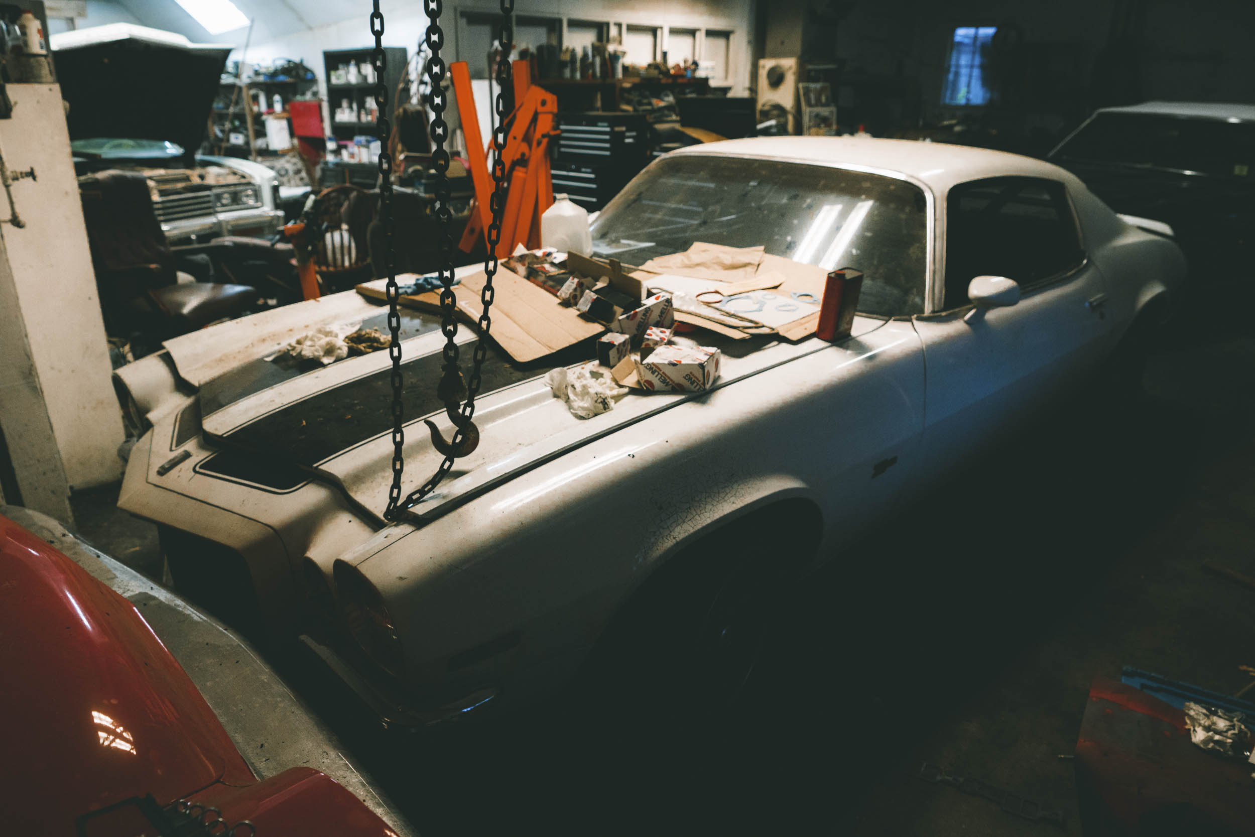 Barn Find Camaro Z28