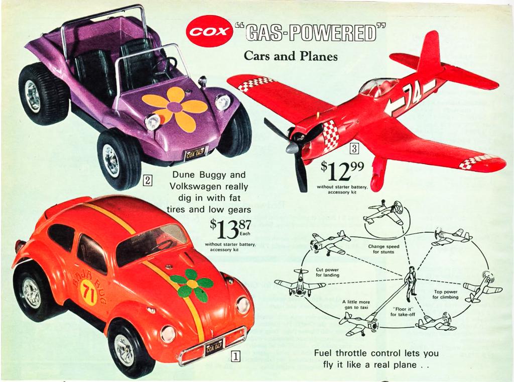 Sears/Wishbookweb.com gas powered toy car