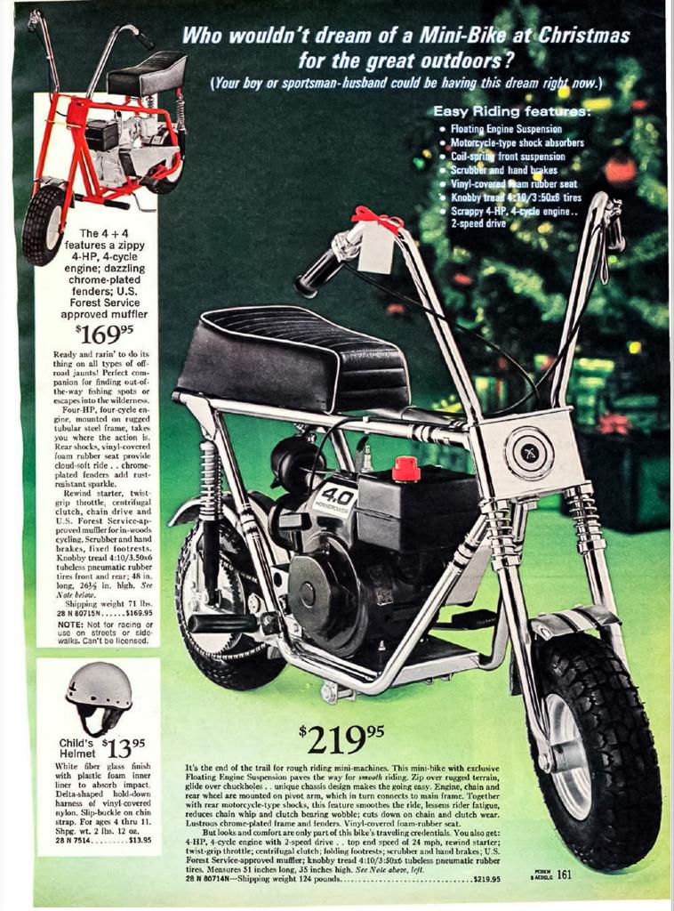Sears/Wishbookweb.com mini bike
