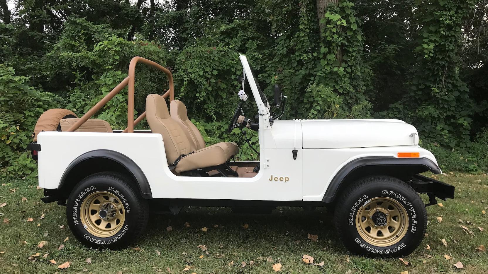 1977 Jeep CJ-7 side profile