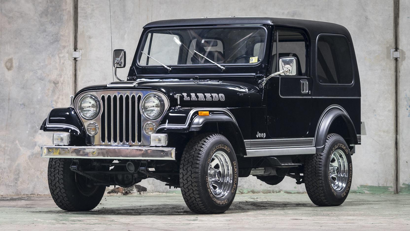1981 Jeep CJ-7 front 3/4 driver