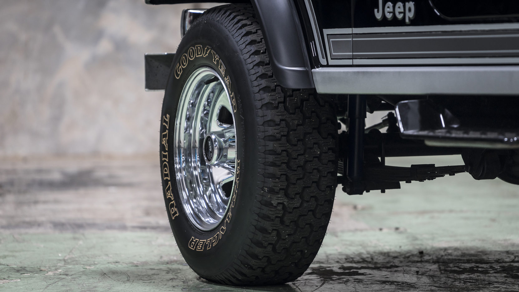 1981 Jeep CJ-7 wheel