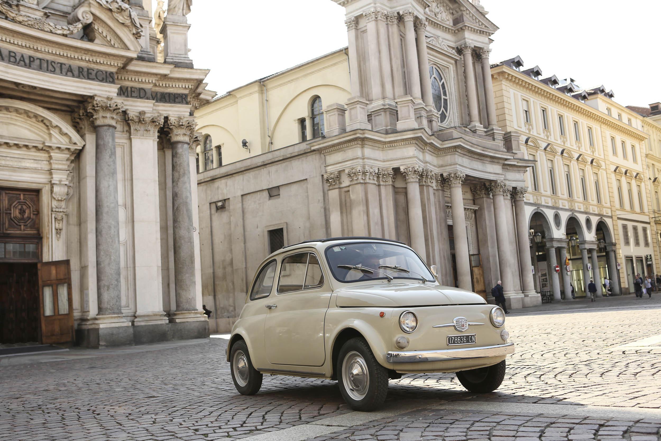 FIAT 500 F in Italy
