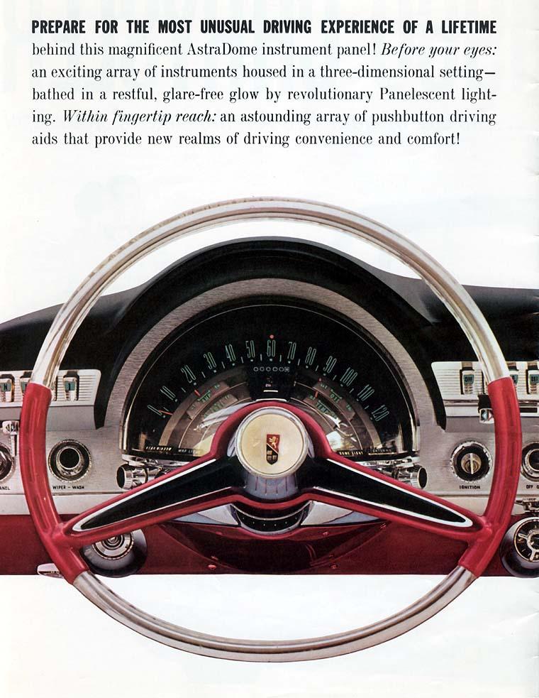 1960 Chrysler dashboard