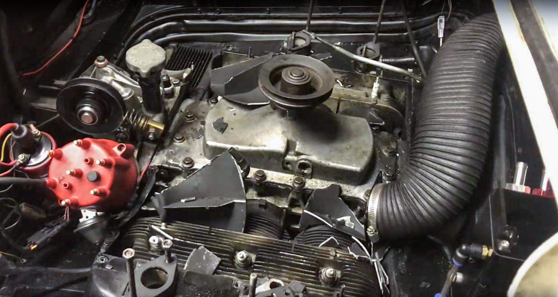 1965 Chevrolet Corvair Corsa broken fan
