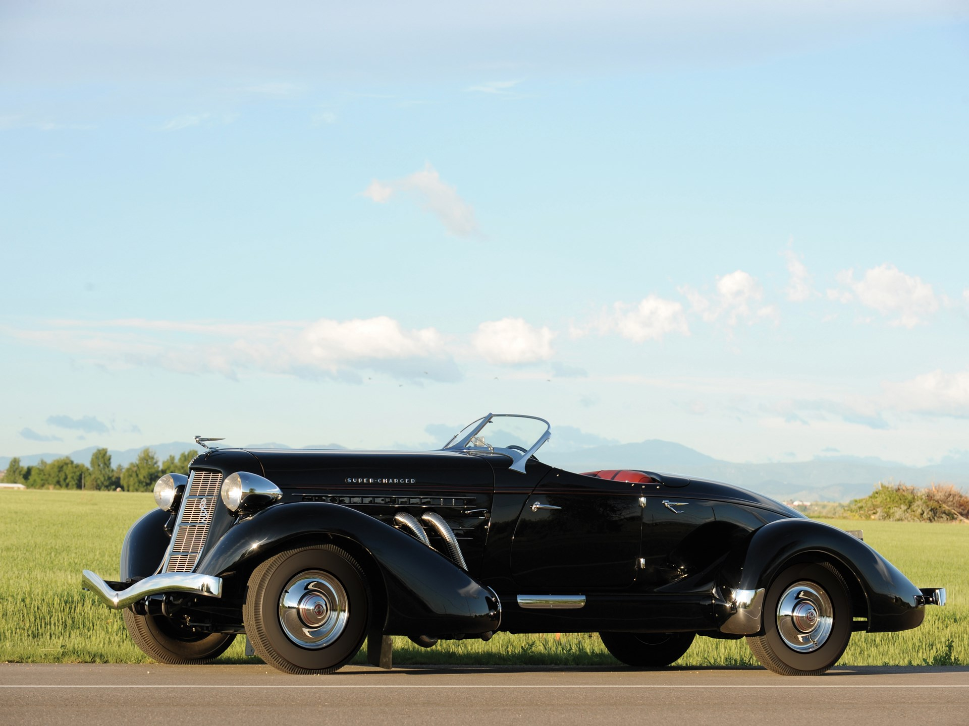 1936 Auburn 852SC Boattail Speedster