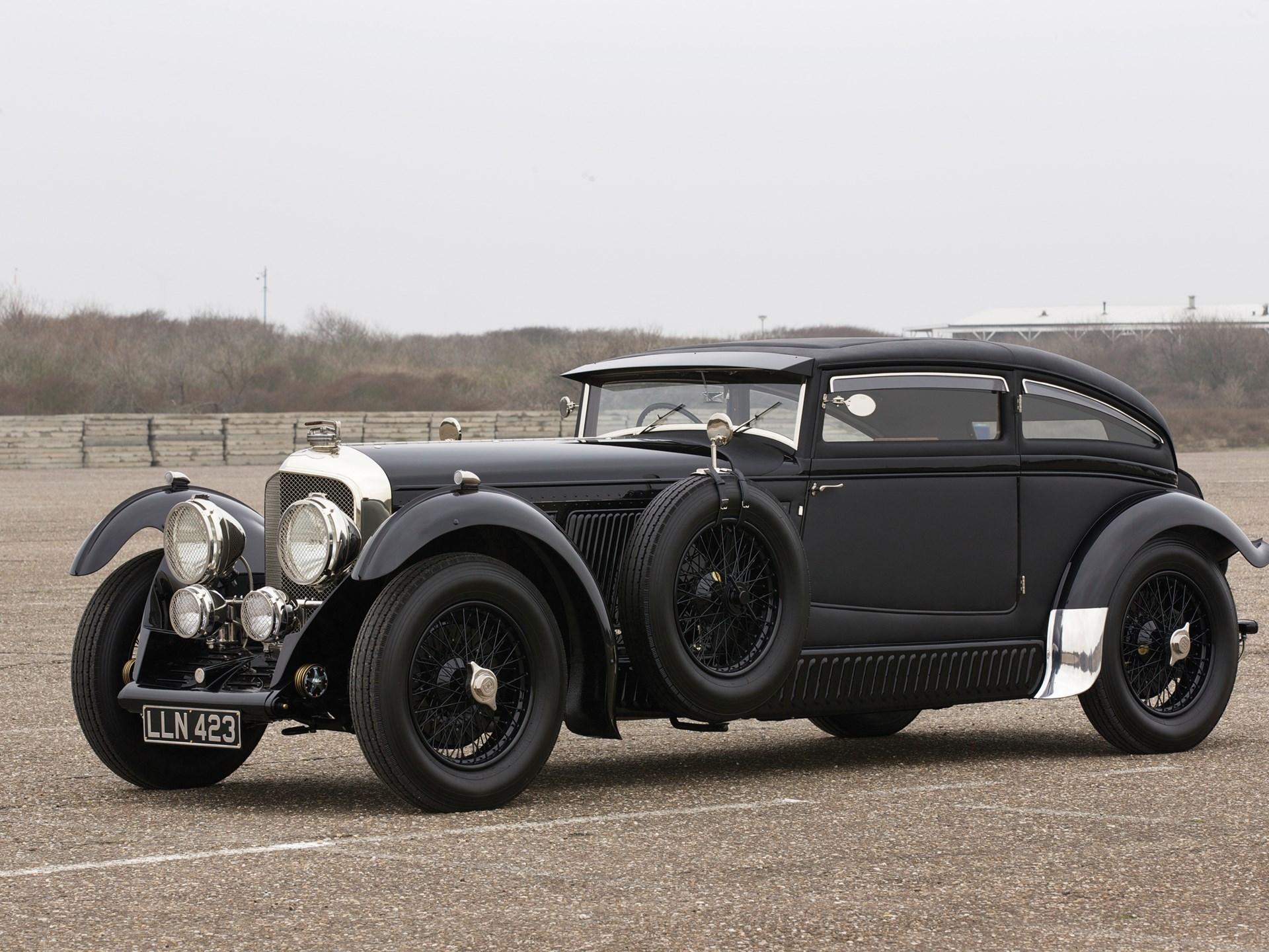 "1950 Bentley ""Blue Train"" Recreation 3/4 front"