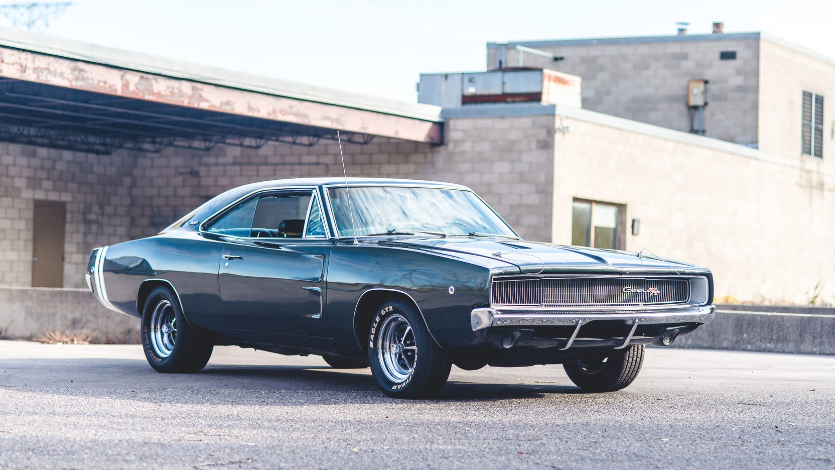 1968 Dodge Charger R/T 3/4