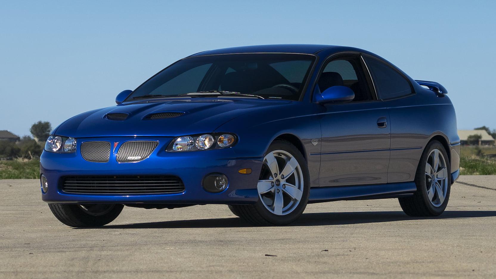 2005 Pontiac GTO 3/4 front