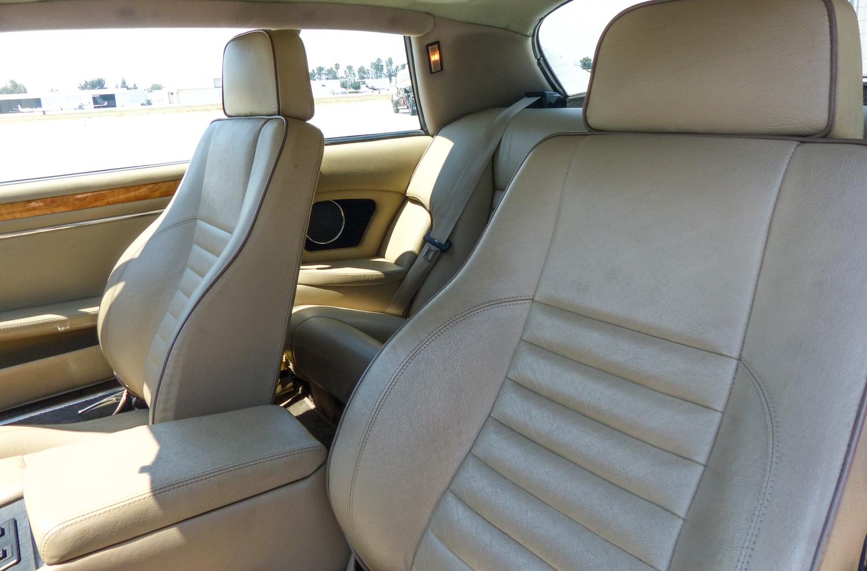1990 Jaguar XJ-S leather seats