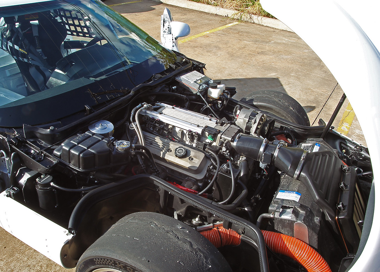 1992 Chevrolet Corvette engine