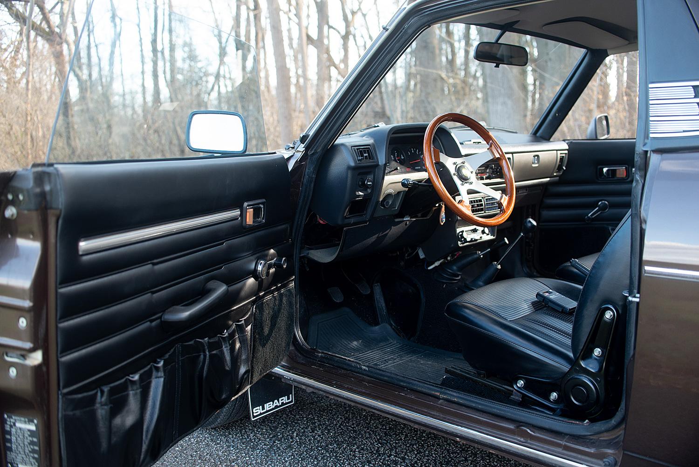 1978 Subaru BRAT drivers interior