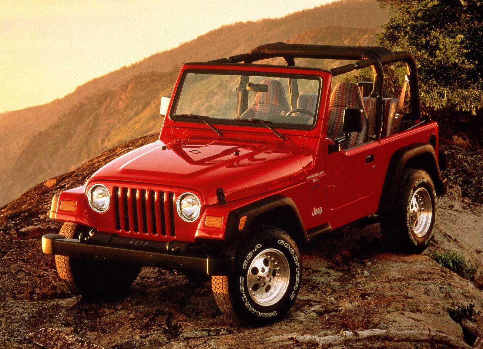 Jeep jk years