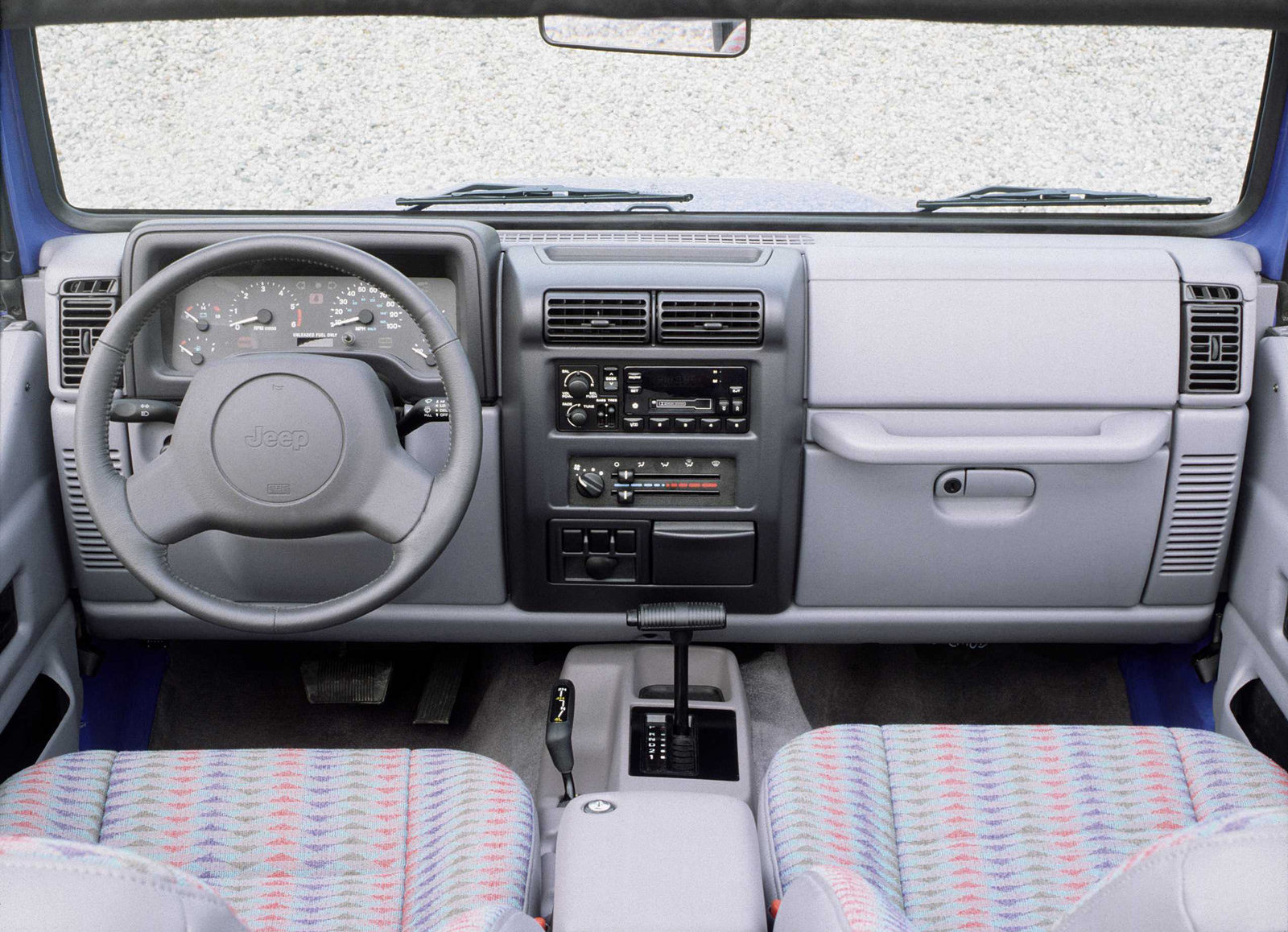 1997 Jeep Wrangler interior