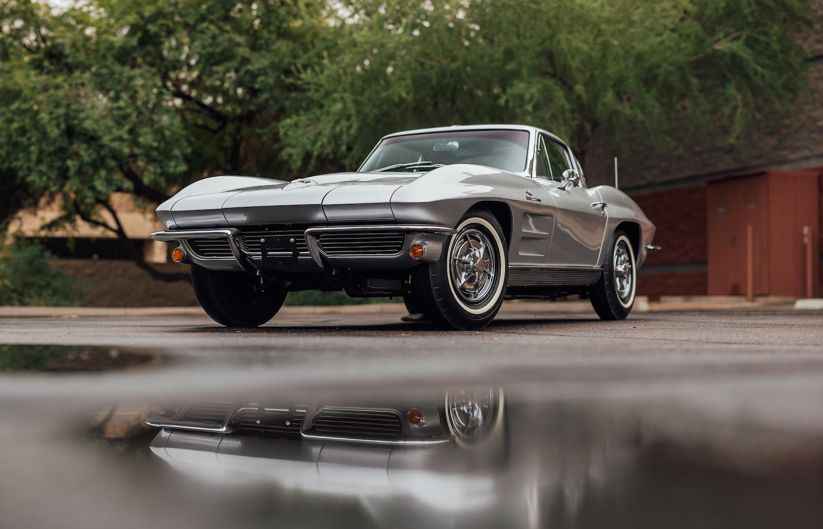 1963 Chevrolet Corvette 3/4 low
