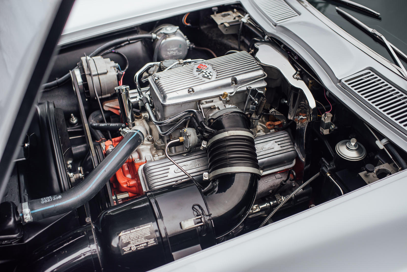 1963 Chevrolet Corvette 327 fuelie engine v8