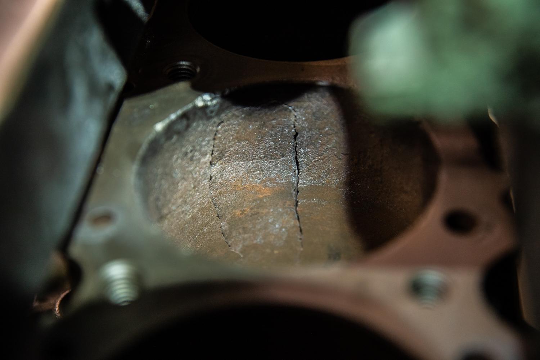 Hagerty redline rebuild pontiac 389 tri power cracked block