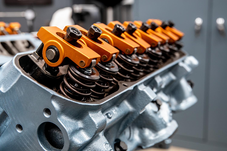 Hagerty redline rebuild pontiac 389 tri power orange rocker detail