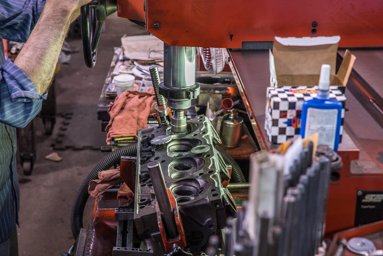 Hagerty redline rebuild pontiac 389 tri power valve job