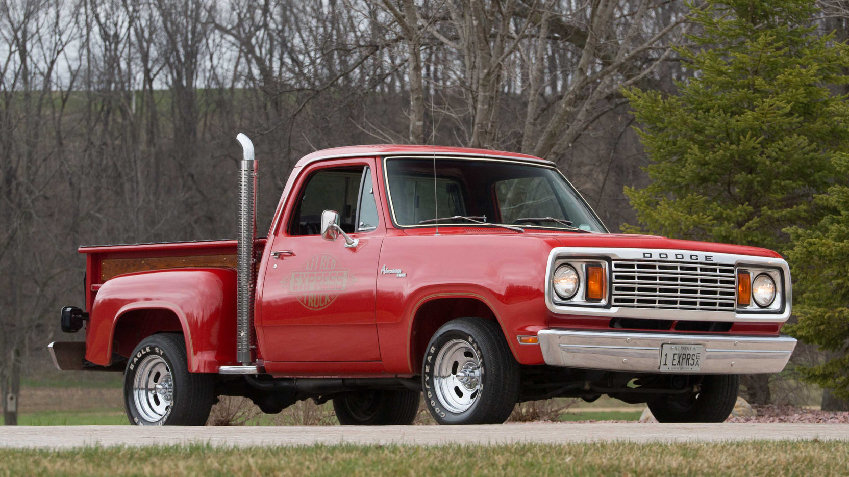 1979 Dodge Li'l Red Express 3/4 passenger