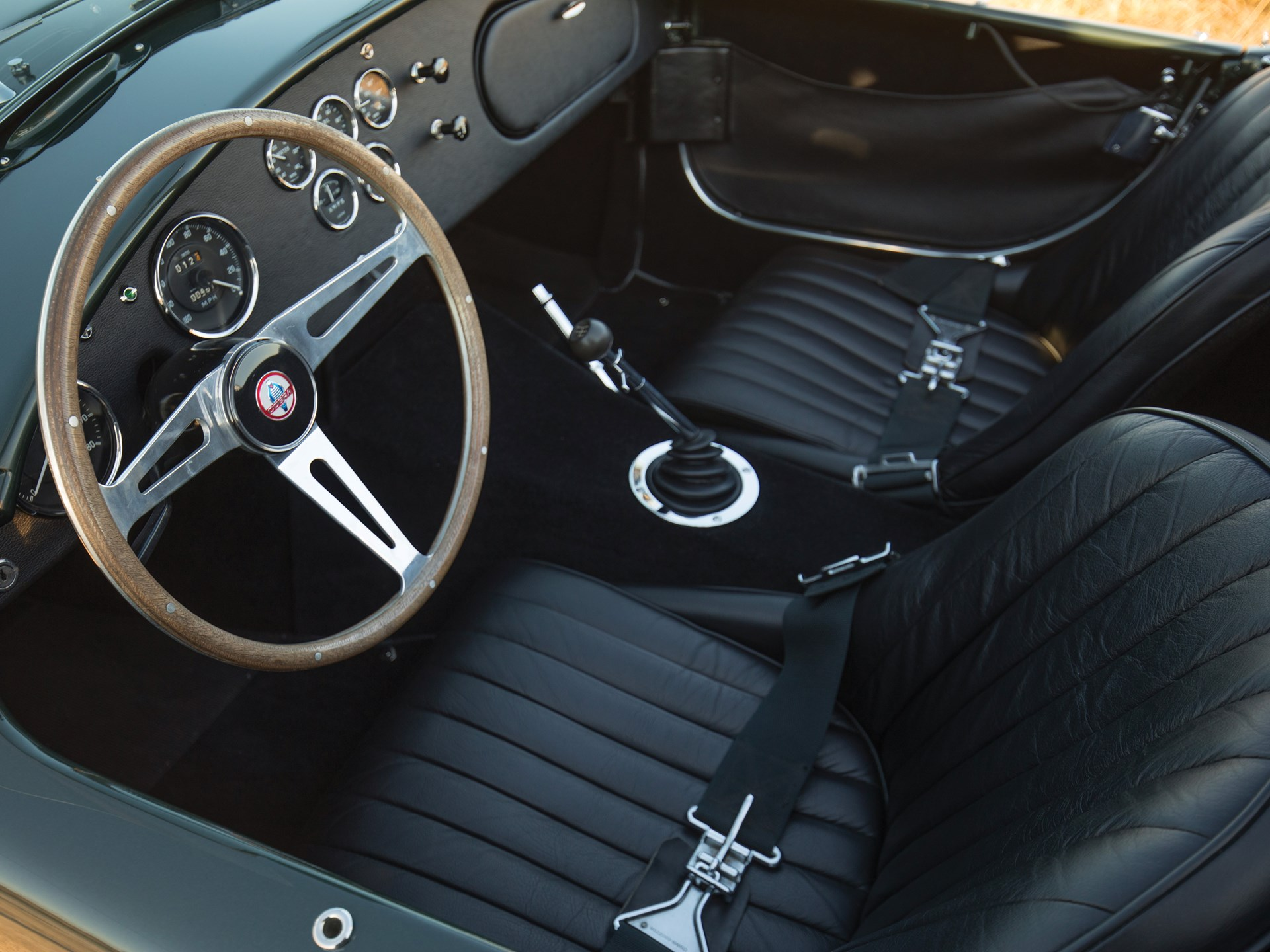1967 Shelby 427 Cobra interior