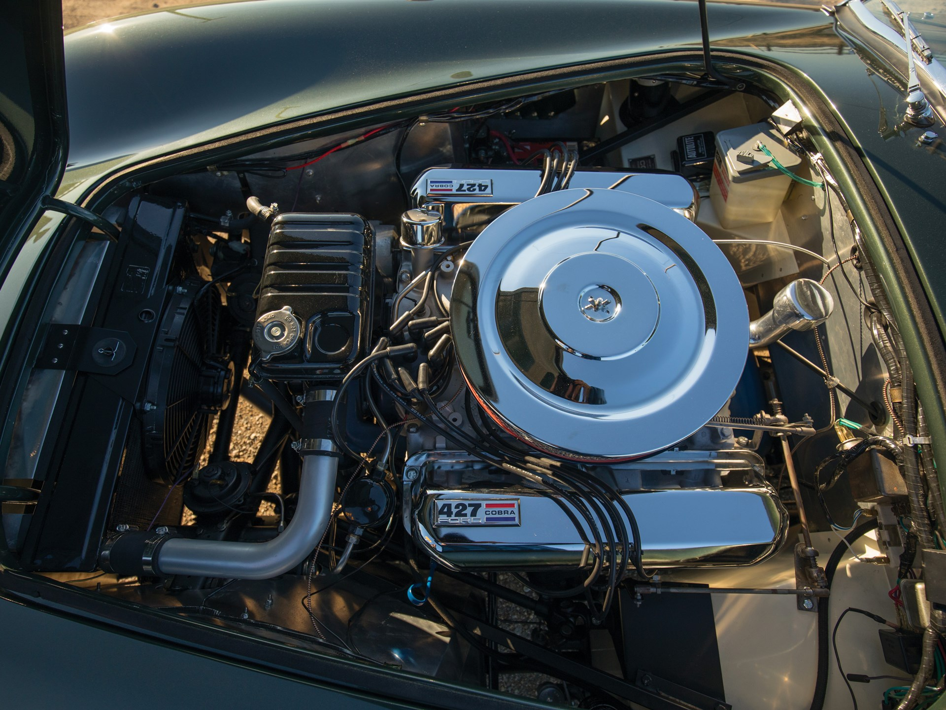 1967 Shelby 427 Cobra engine bay