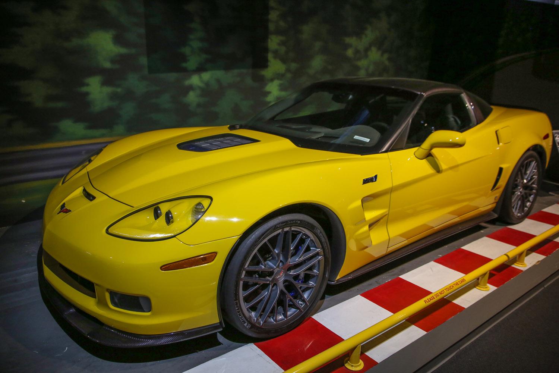National corvette museum ZR1 nurburgring record car