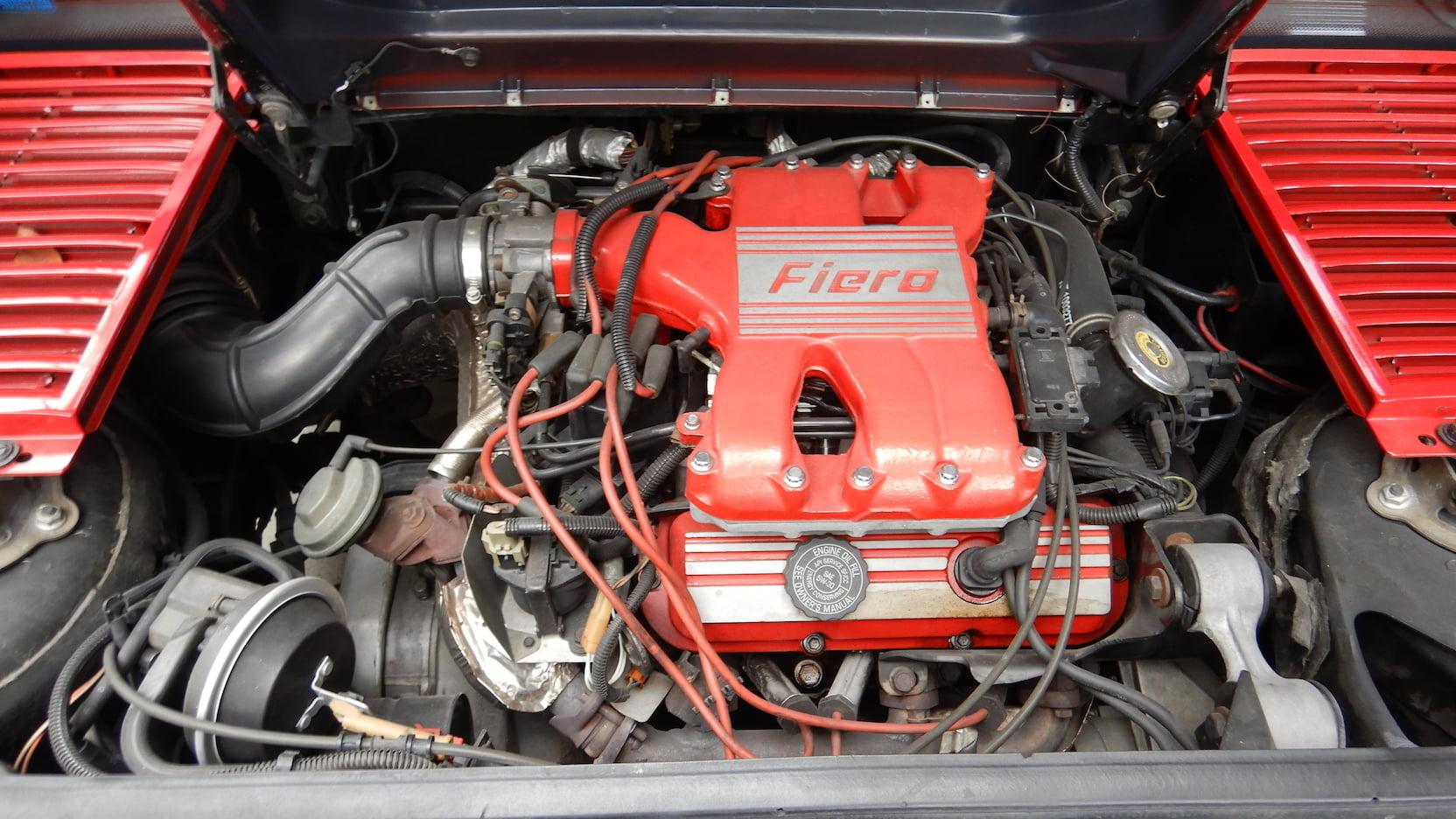 1988 Pontiac Fiero Formula engine