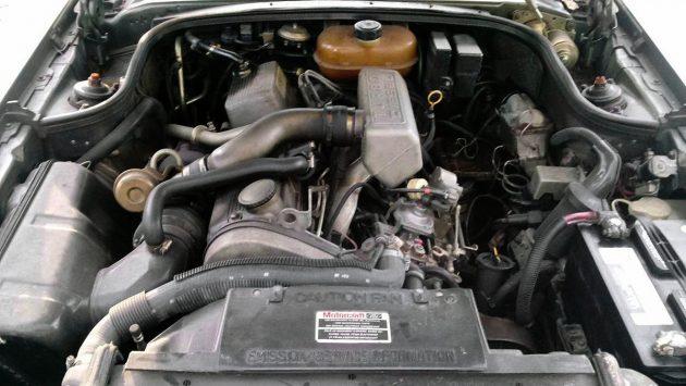 Lincoln Mark VII BMW engine