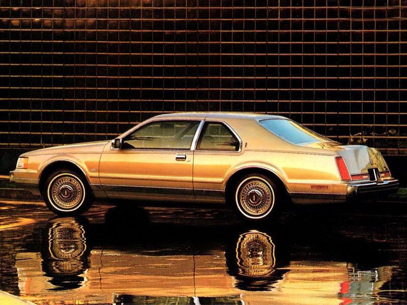 Lincoln Mark VII Brochure rear 3/4