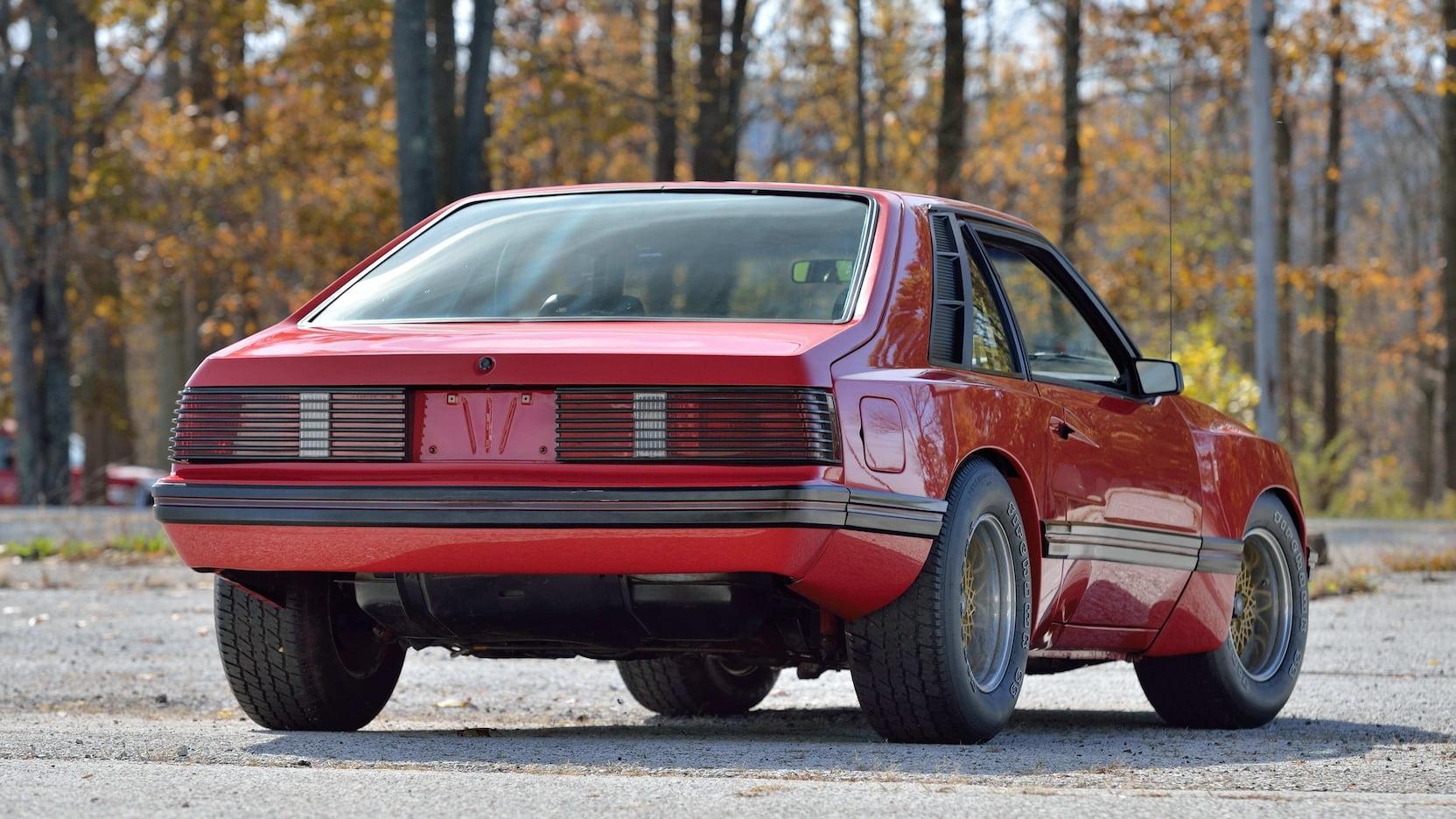 1980 Mercury Cosworth Capri rear 3/4